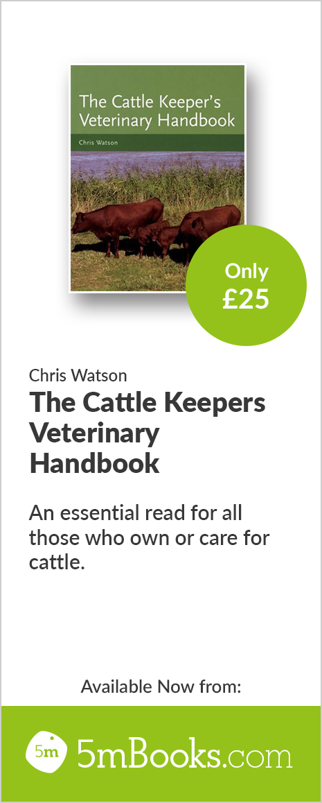 The Cattle Keepers Veterinary Handbook - 5m Books