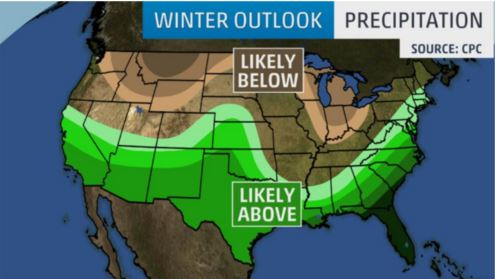 Inter Outlook - Precipitation